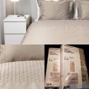 NEW | 2 avail | Luxe TWIN DUVET Praktviva by IKEA